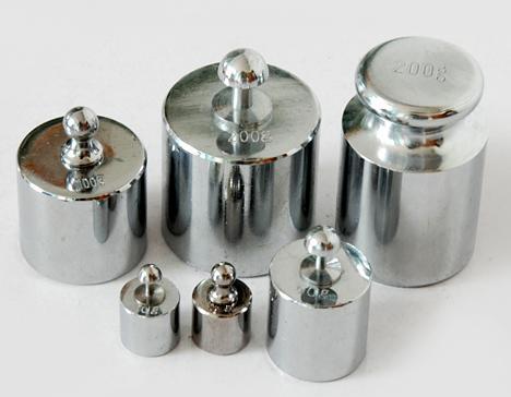 钢制镀铬砝码价格